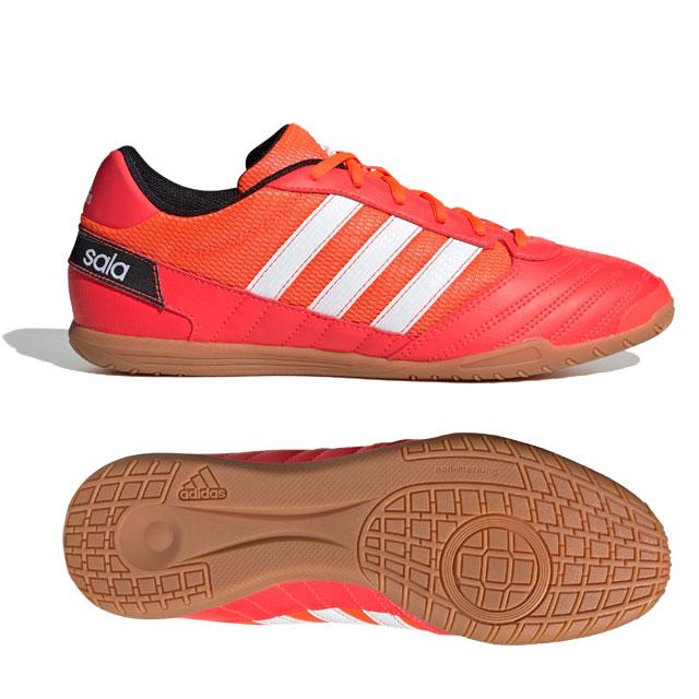 アディダス スーパーサラ Super Sala Boots フットサル インドアシューズ 屋内シューズ レッド 【adidas2020Q1】 FV2561