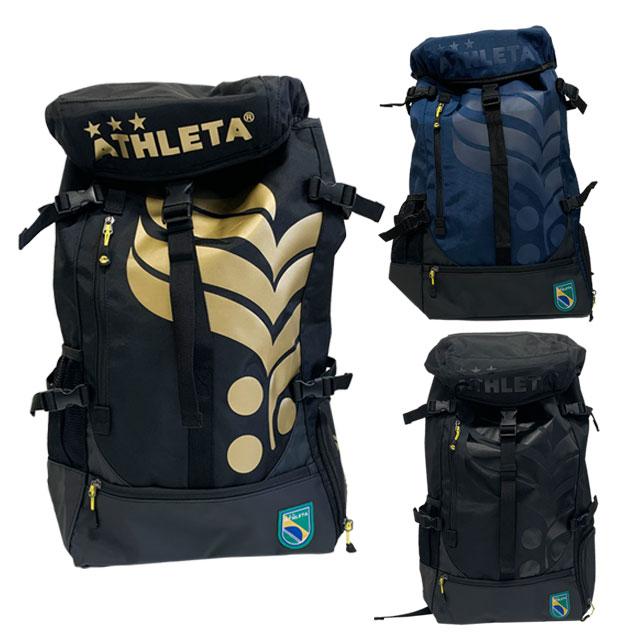 アスレタ サッカー 送料無料 フットサル バッグ SEAL限定商品 リュックしっかり入る 約35L 期間限定 刺繍加工無料キャンペーン YA135 リュック バックパック 大容量 ATHLETA2021SS かばん