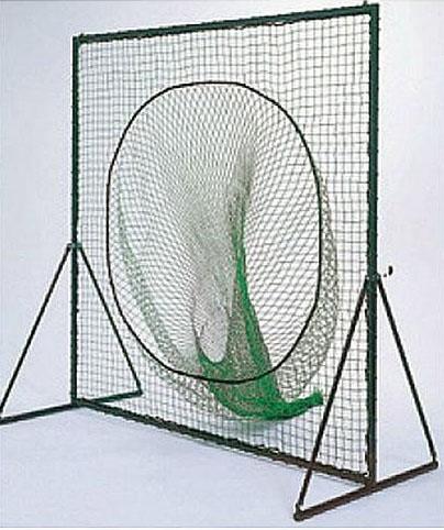 野球用 防球 ネット 組立式 移動式 トスバッティング用 195cm×195cm 集球袋付き ネットのみ T360N 日本製