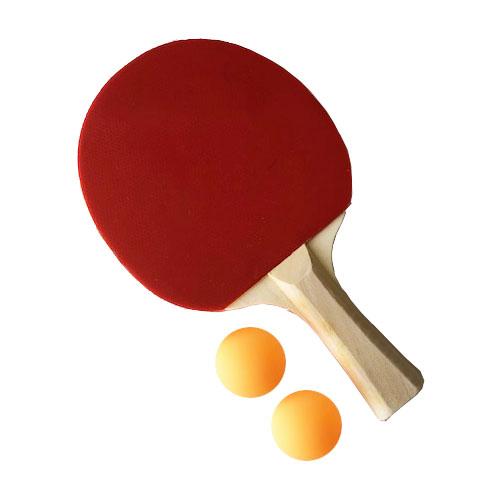 卓球 ラケット シェークハンド【まとめ買い 12セット】 セット テーブルテニス ラケット1本·40mmボール2球 105 ピンポン 家庭 テーブル テニス 室内 机 デスク