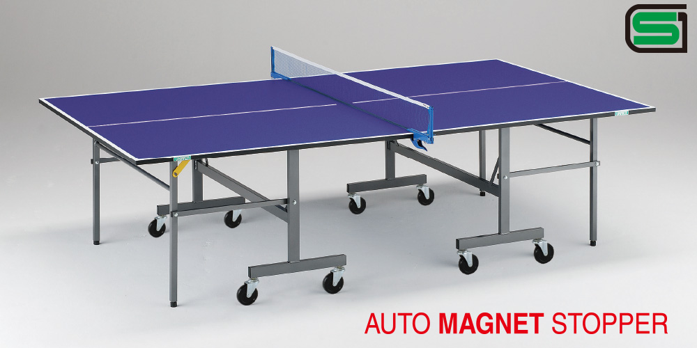 UNIVER ユニバー 国際公式規格サイズ 卓球台 BR18 日本製 PLAY BACK(内折セパレート)卓球バレー