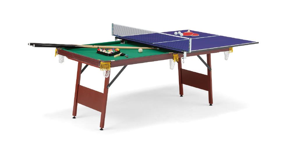 UNIVER ユニバー ビリヤード 卓球台付属品セット付 EST-1800
