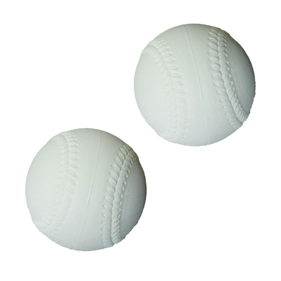 ふわふわ 硬式型 ベースボール 軟式タイプ ホワイト 120球 少年 グローブ キャッチボール キッズ ジュニア 日本製
