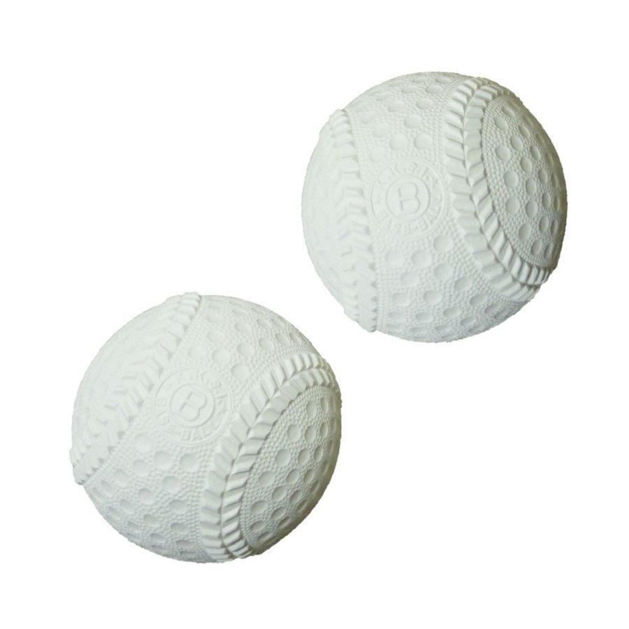 ボール ふわふわ 野球 ベースボール 軟式タイプ ホワイト 120球 少年 グローブ キャッチボール キッズ ジュニア