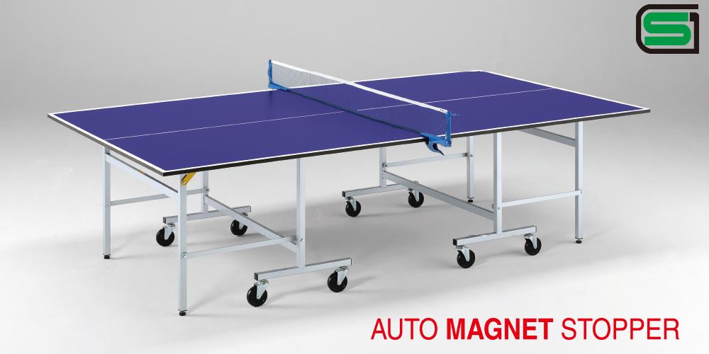 UNIVER ユニバー 国際公式規格サイズ 卓球台 MD18日本製 PLAY BACK(内折セパレート)世界基準 卓球 ピンポン 施設 体育館 集会所