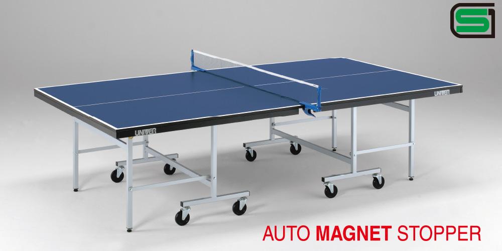 卓球台 国際公式規格サイズ MB22F 日本製 PLAY BACK(内折セパレート)卓球バレー