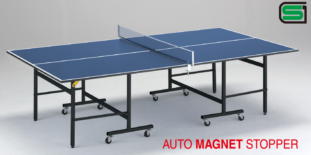 卓球台 国際公式規格サイズ MNF22 日本製 PLAY BACK(内折セパレート)卓球バレー