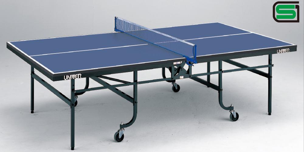 卓球台 国際公式規格サイズ アシスト+AVL-25 日本製 VARIOUS(内折一体式)ガスダンパー付き 卓球バレー シニア