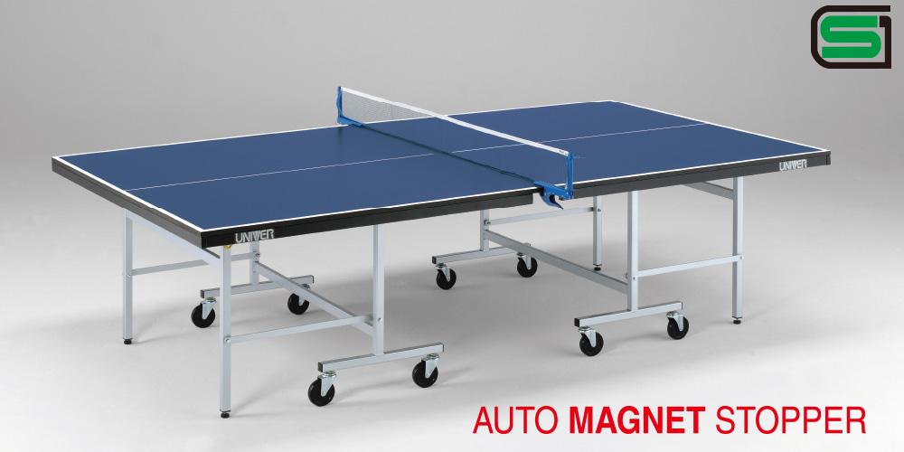 卓球台 国際公式 規格サイズ LM22F 日本製 PLAY BACK(内折セパレート)学校使用に最適な人気モデル 卓球バレー