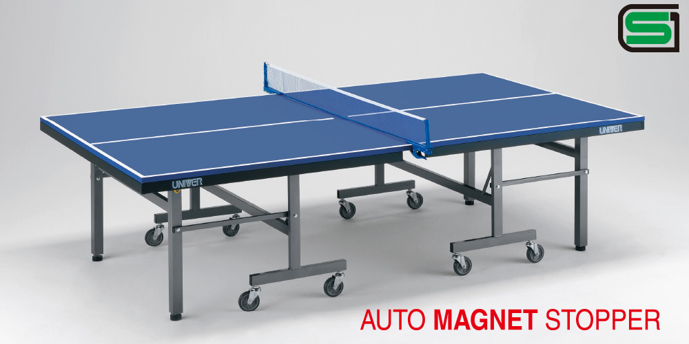 UNIVER ユニバー 国際公式規格サイズ 卓球台 PG2500 日本製 PLAY BACK(内折セパレート)