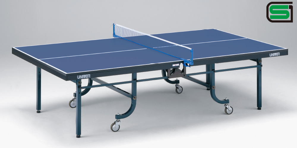 UNIVER ユニバー 国際公式規格サイズ 卓球台 VM25F 日本製 VARIOUS(内折一体式)