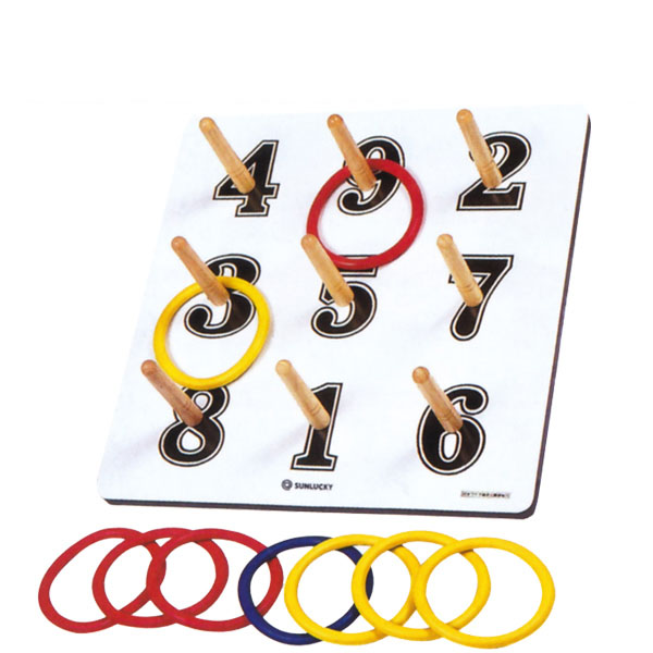 サンラッキー 日本ワナゲ協会公認 公式ワナゲセット SL-L 子ども会 老人会 イベント 輪投げ 大人 子ども レクレーション