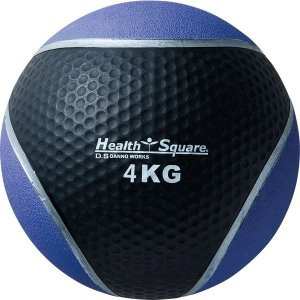 メディシンボール 4kg D5273 メンズ レディース 歩行 鉄アレー 筋トレ リハビリ