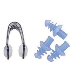 鼻栓 耳栓セット スイミング はなせん みみせん 414-375 シリコーン 子ども 大人 男女兼用 プール 水泳 シンクロ 匂い つわり 学習