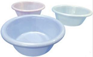 【送料無料】ピュア湯桶 お風呂 桶 風呂 日本製  生活 ザッカ プラ 80個(ホワイト×24パープル×32ブルー×24)