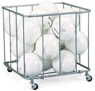 ボール ボールカゴ 日本製 EKE235 巾60×奥行60×高さ60cm 約15球 収納 キャスター付き 体育館 倉庫