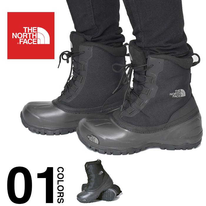 ザ ノースフェイス ブーツ THE NORTH FACE Snow Shot 6 Boots TX V スノーショット6 ブーツテキスタイルV スノーブーツ KK 防水 大きいサイズ アウトドア スノボー ブラック ユニセックス NF51960