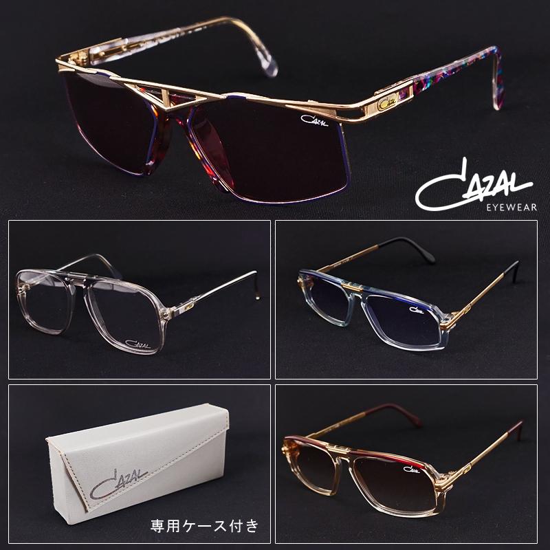 カザール サングラス デッドストック メンズ レディース CAZAL ビンテージサングラス 眼鏡 メガネ フレーム 80年代 貴重 ファッショングラス