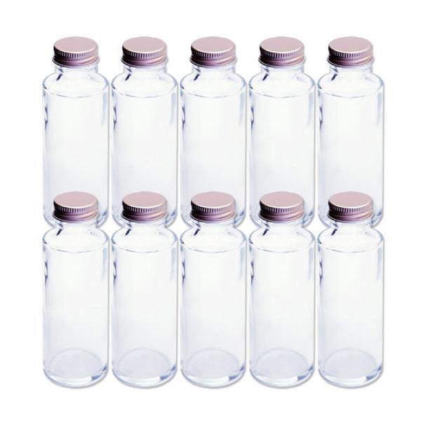人気のハーバリウムに最適なガラス瓶10本セット あす楽 ハーバリウム 円柱ガラス瓶 100cc 10本セット キャップ付 硝子ビン 透明瓶 花材 植物標本 インテリア アロマディフューザー 激安卸販売新品 プリザーブドフラワー お買い得 SNS インスタ 花の観賞 ボトルフラワー ウエディング