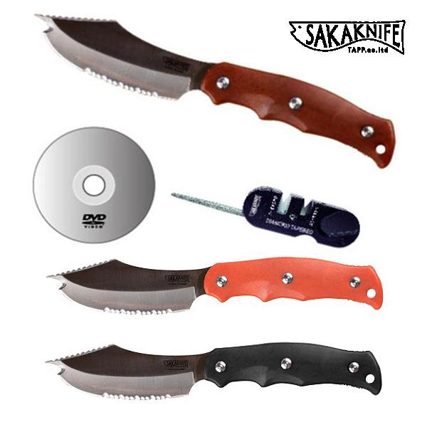 SAKAKNIFE サカナイフ シャープナー/説明DVD付 日本製 魚調理用 ナイフ 包丁