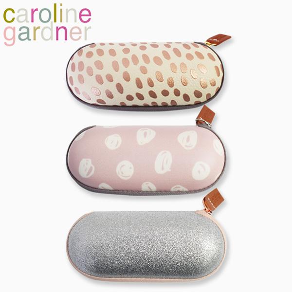 Caroline Gardner Hard Glasses Case Gold Spot