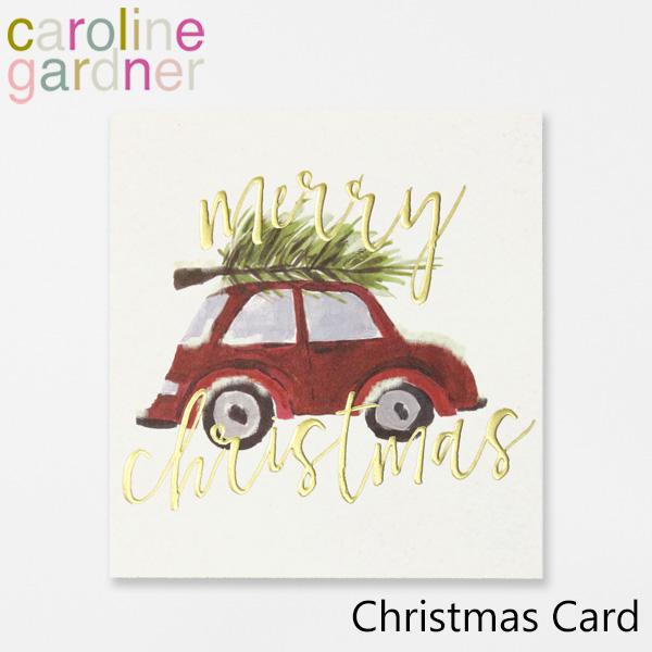 おしゃれでかわいい 大人 誕生日 お祝い プチギフト 雑貨 キャロラインガードナー グリーティングカード カード UK 専門店 新品未使用正規品 gardner Cardブランド ロンドン プレゼント デザイナーズ PNT513ギフト Christmas caroline