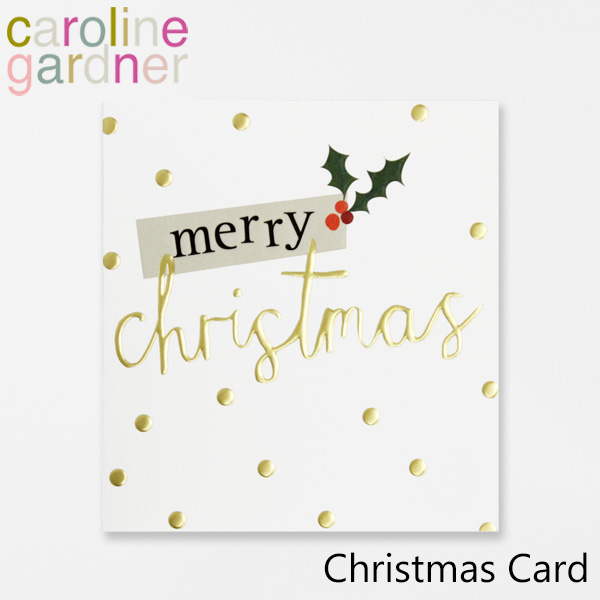 驚きの価格が実現 人気ショップが最安値挑戦 おしゃれでかわいい 大人 誕生日 お祝い プチギフト 雑貨 キャロラインガードナー カード グリーティングカード caroline プレゼント Cardブランド UK Christmas デザイナーズ ロンドン gardner PNT516ギフト