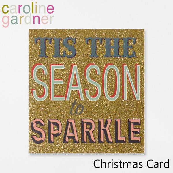 おしゃれでかわいい 大人 誕生日 お祝い 日本 テレビで話題 プチギフト 雑貨 キャロラインガードナー グリーティングカード カード ロンドン UK caroline PNT530ギフト gardner デザイナーズ プレゼント Cardブランド Christmas