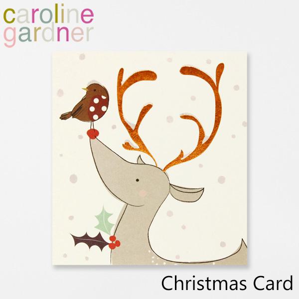 通信販売 おしゃれでかわいい 大人 誕生日 お祝い プチギフト 雑貨 キャロラインガードナー グリーティングカード カード プレゼント gardner UK PNT531ギフト デザイナーズ Cardブランド Christmas 返品送料無料 caroline ロンドン