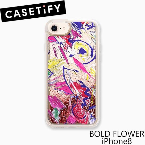 ケースティファイ アイフォン 6 / 6s / 7 / 8 ケース ボールド フラワー アイフォン 8 CASETiFY BOLD FLOWER iPhone 8 アイフォン ケース ブランド LAブランド スマホ ギフト プレゼント