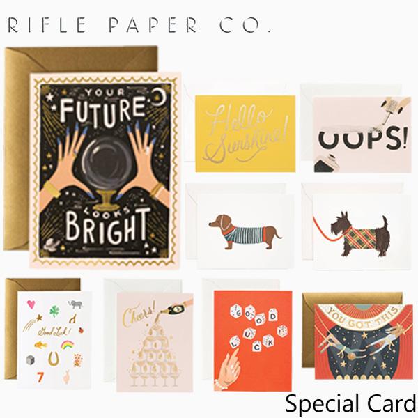 おしゃれでかわいい 大人 誕生日 お祝い プチギフト 雑貨 ライフルペーパー グリーティングカード Special Card RIFLE GCMギフト プレゼント カードブランド アメリカ スペシャル デザイナーズ USA CO. 業界No.1 PAPER 至上 海外 カード