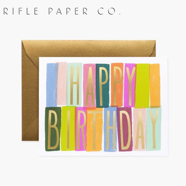 おしゃれでかわいい 大人 誕生日 お祝い プチギフト 雑貨 ライフルペーパー グリーティングカード バースデー メリダ RIFLE 海外 GCB053ギフト プレゼント 特価キャンペーン デザイナーズ USA カード CO. 開店祝い Merida アメリカ Birthdayブランド PAPER