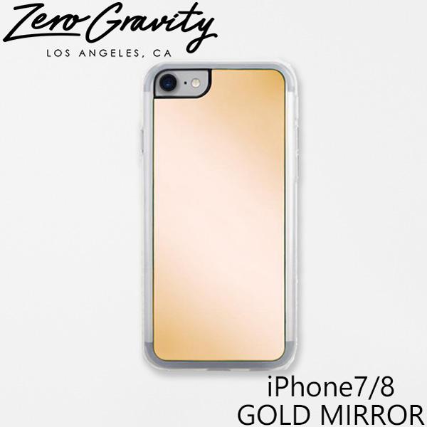 おしゃれでかわいい バーゲンセール 大人 誕生日 お祝い プチギフト 雑貨 ゼログラビティ アイフォン ケース 7 8 ゴールド プレゼント MIRRORスマホ ブランド iPhone7 LAブランド ギフト GOLD MIRRORアイフォン ZEROGRAVITY ミラー iPhone SALE