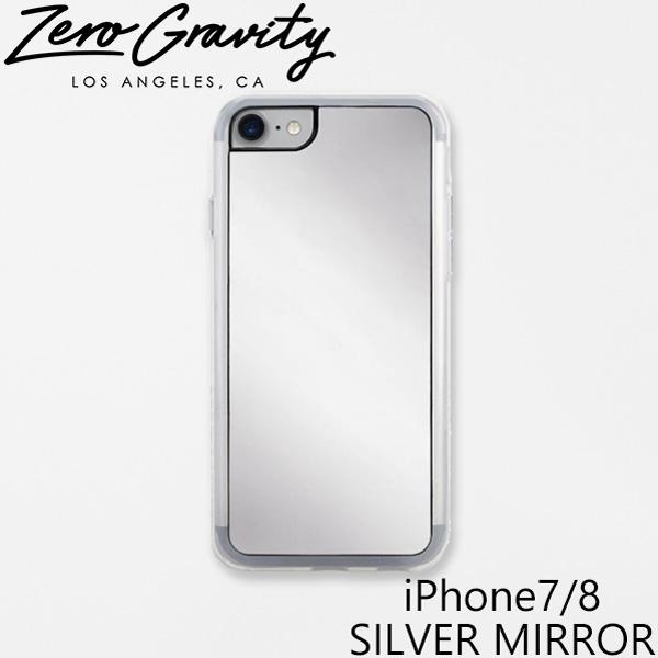 おしゃれでかわいい 大人 誕生日 お祝い プチギフト 雑貨 在庫限り ゼログラビティ アイフォン ケース 7 8 人気の製品 シルバー iPhone ミラー ZEROGRAVITY SILVER LAブランド プレゼント MIRRORスマホ MIRRORアイフォン ギフト iPhone7 ブランド