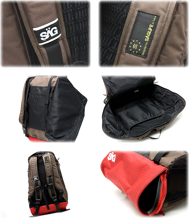 ★★ SAGLiFE PEDAL FORCE 1包背包帆布背包