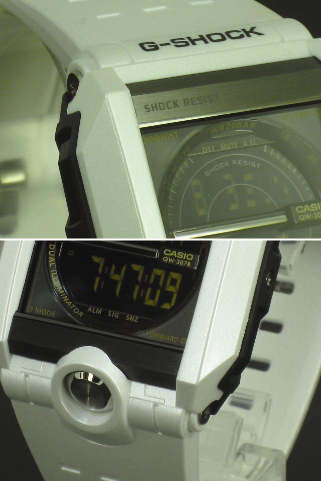 ★ ★ CASIO/G-SHOCK/g-shock g shock G shock G-shock watch G-8100A-7JF/WHITE