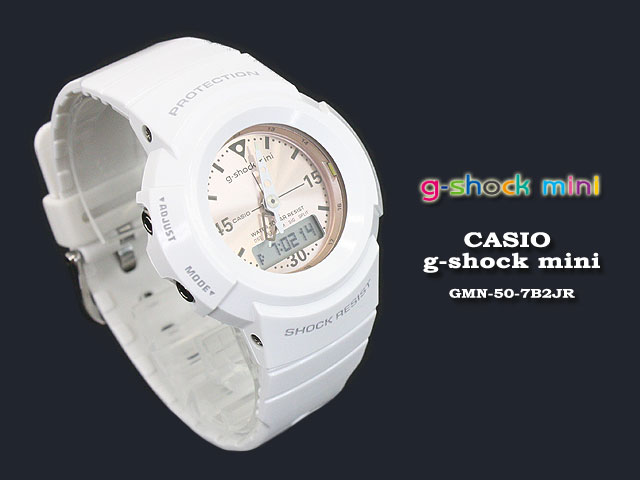 ★ ★ CASIO/G-SHOCK/g shock G shock G-shock g-shock mini g-shock mini ladies watch GMN-50-7B2JR/witet/pink ladies