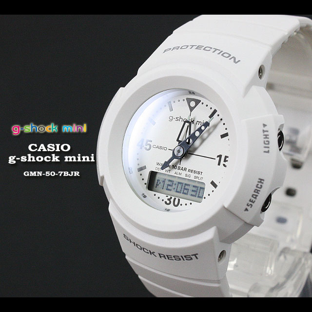 ★ ★ CASIO/G-SHOCK/G shock G-shock g-shock mini g-shock mini ladies watch GMN-50-7BJR/witet/white ladies