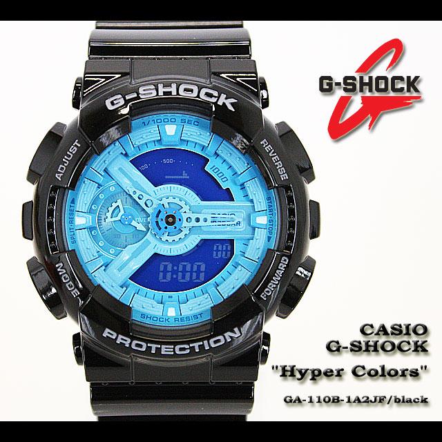 CASIO/G-SHOCK/g shock G shock G- shock [Hyper Color] hyper color watch /GA-110B-1A2JF/black [fs01gm]