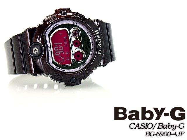 ★ ★ CASIO/G-SHOCK/g-shock g shock G shock G-shock baby-g baby G ladies BG-6900-4JF/bordeaux ladies / watch