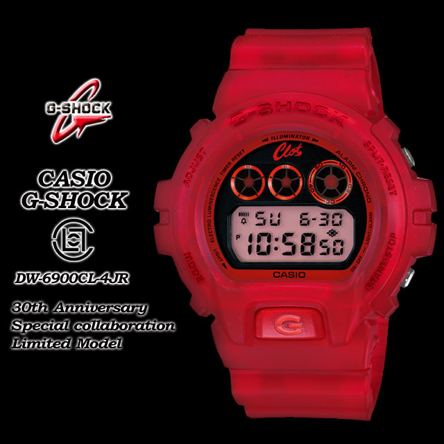 ★ domestic regular ★ ★ ★ Cysio/g-shock/g-shock g shock G shock G-shock 30th anniversary commemorative collaboration limited edition model watch / DW-6900CL-4JR