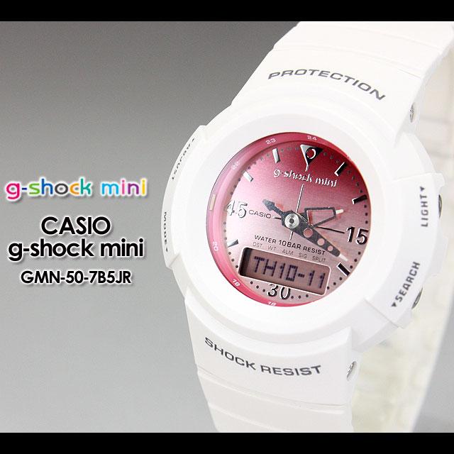 CASIO/G-SHOCK/g shock G shock G-shock g-shock mini g-shock mini ladies watch GMN-50-7B5JR/white ladies PIC
