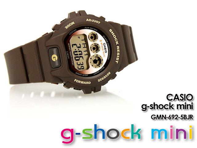 CASIO/G-SHOCK/g shock G shock G- shock G- shock mini g-shock mini GMN-692-5BJR/brown Lady's [fs01gm]
