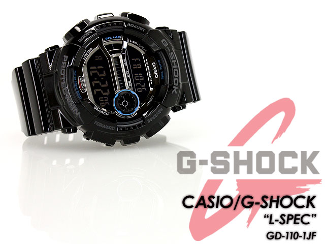 CASIO/G-SHOCK/g-shock g shock G shock G- shock [willow oak ogee shock] [L-SPEC] L specifications Watch /GD-100-1JF [fs01gm]