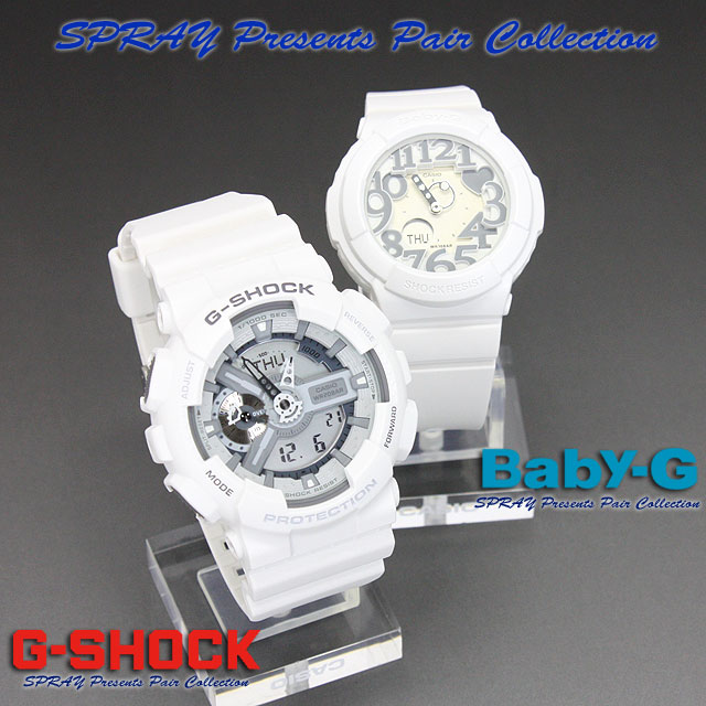★ domestic regular ★ ★ ★ CASIO/G-SHOCK/G shock G-shock display presents pair collection watch lov-12 s-7 AJF LOV-12A-7AJR