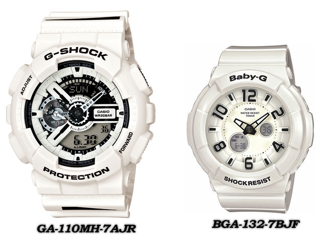 ★ domestic regular ★ ★ ★ CASIO/G-SHOCK/G shock G-shock display presents pair collection watch lov-12 SS-7AJR LOV-12A-7AJR