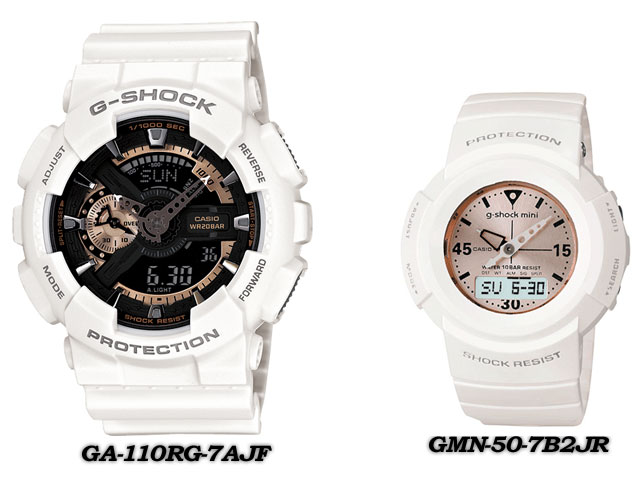★ domestic regular ★ ★ ★ CASIO/G-SHOCK/G shock G-shock display presents pair collection watch lov-12 SS-7AJF LOV-12A-7AJR