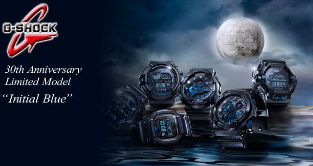 ★ domestic regular ★ ★ ★ CASIO/G-SHOCK/g-shock g shock G shock G-shock 30th anniversary Limited Edition Bluetooth initials Blue Watch / GB-6900AA-A1JR iPhone iPhone