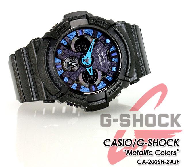 ★ ★ CASIO/G-SHOCK/g-shock g shock G shock G-shock メタリックカラーズ GA-200SH-2AJF watch