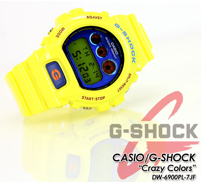 ★Domestic regular article ★★★ CASIO/G-SHOCK/g-shock g shock G-Shock G- shock crazy colors watch / DW-6900PL-9JF